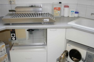 Salle de stérilisation autoclave poupinel et ensacheuse clinique vétérinaire de Bléré
