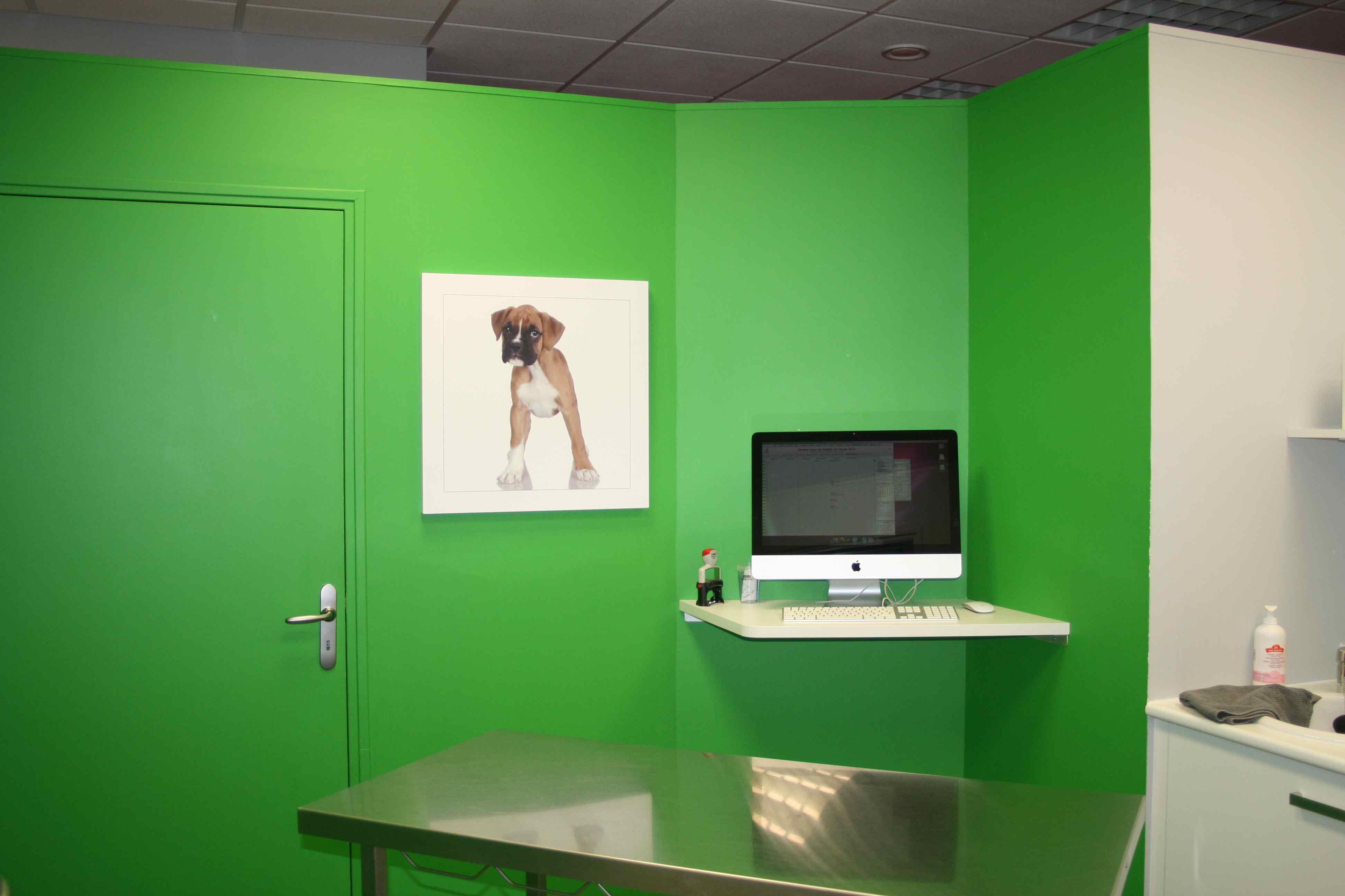 Clinique de Montrichard salle de consultation