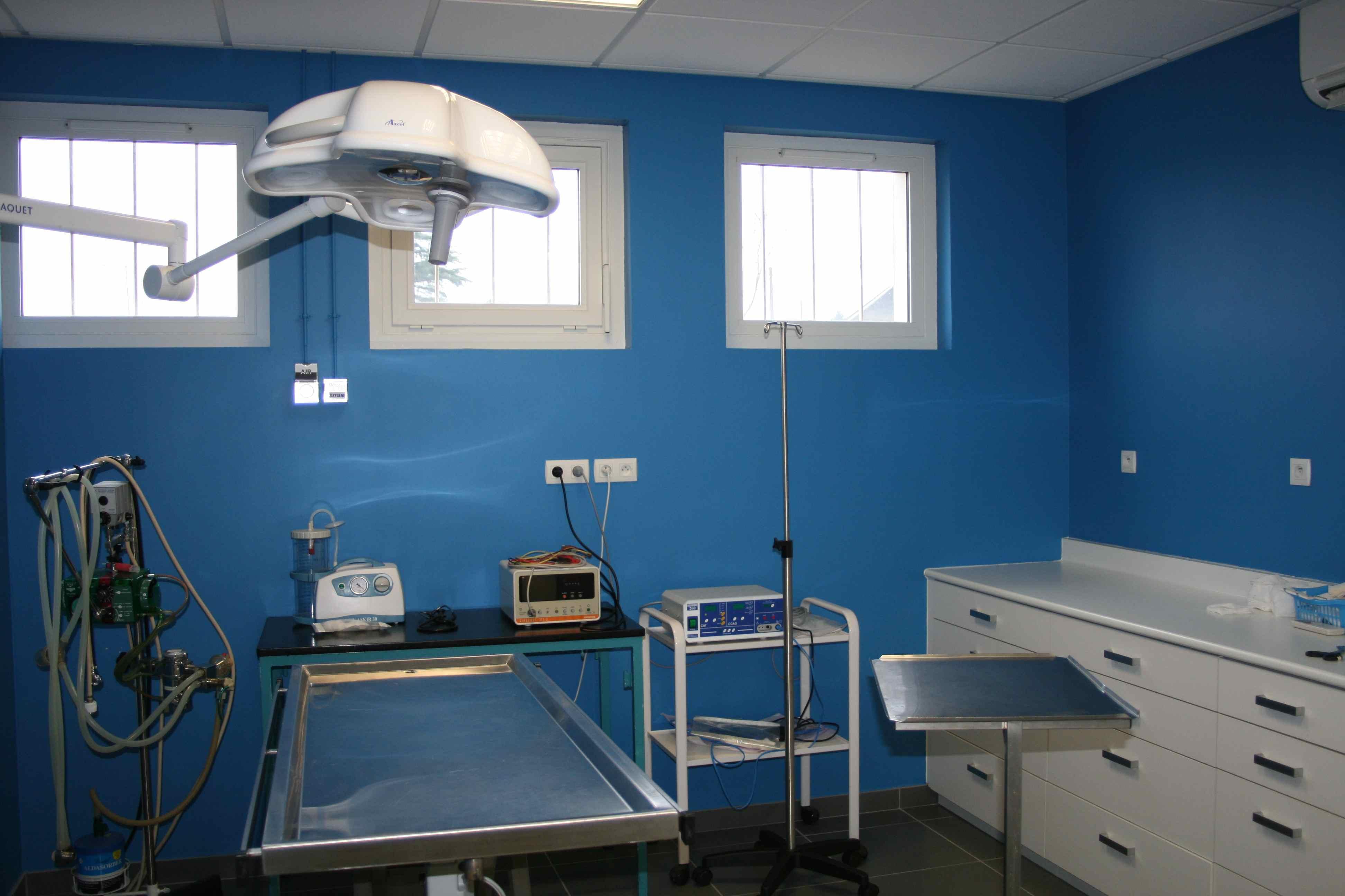 Clinique de montrichard salle de chirurgie