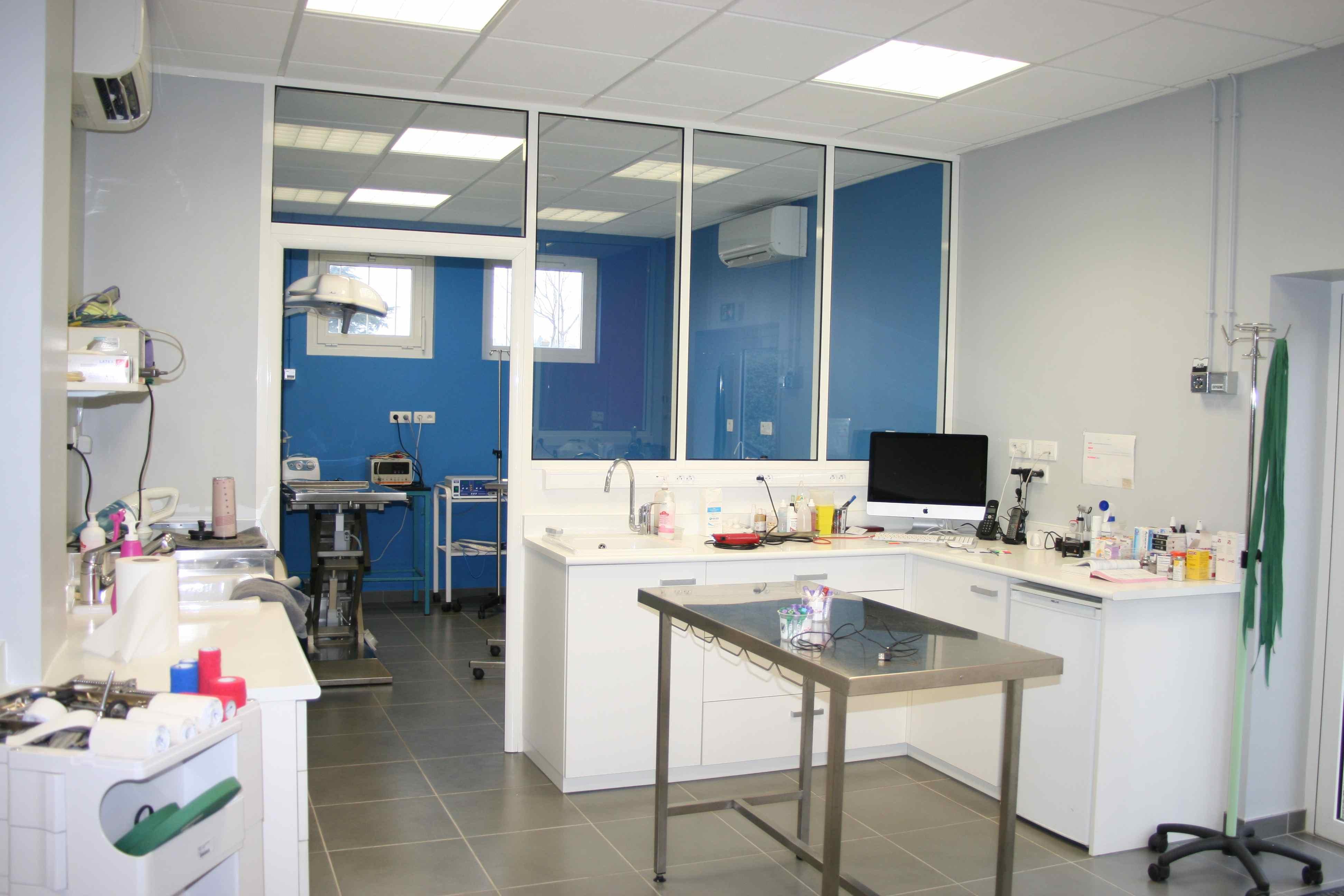 Clinique de montrichard Salle de soins